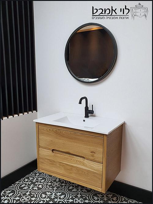 ארון-אמבטיה-אדל-100-סמ-תלוי-צבע-לבן-ארונות-אמבטיה