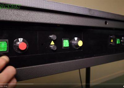 כפתורי שליטה על עוצמת החום
