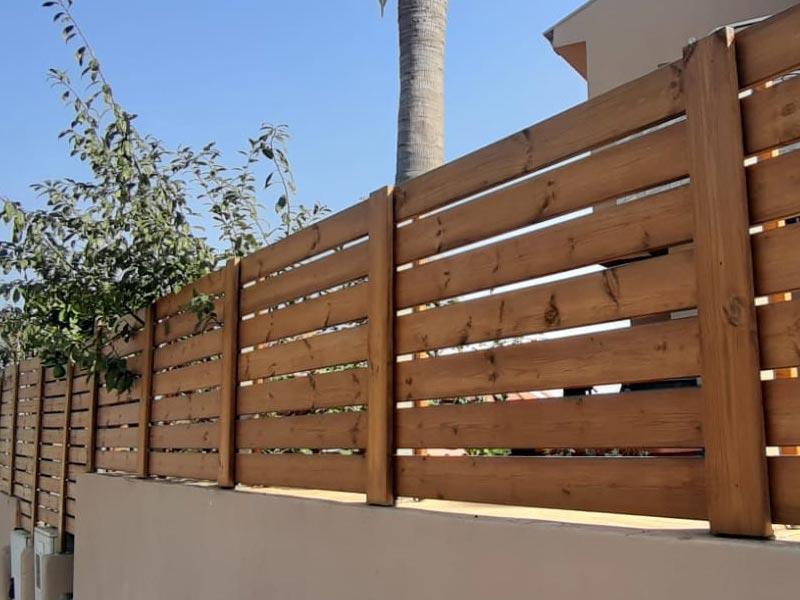 גדר מעץ איך מייצרים